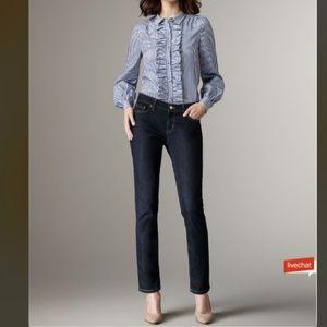 Kate Spade Dark Wash Broome Street Jeans Size 26